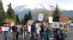Occupy Wall St, Mt Shasta CA Oct 18, 2011 (06:22)